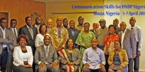 Communication Skills for UNDP- Nigeria- April 2016